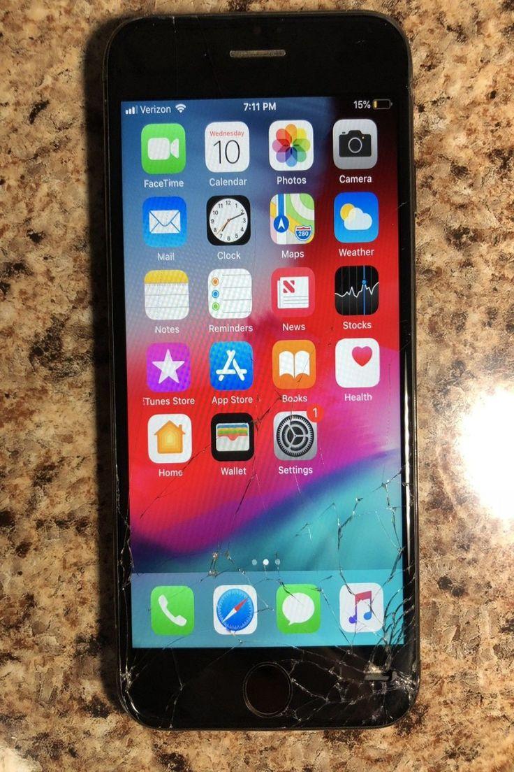 Apple iphone 7 128gb jet black verizon a1660 cdma