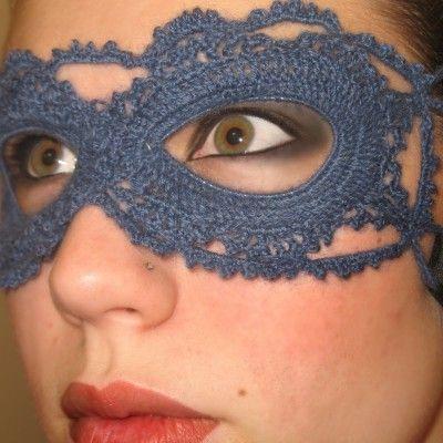 maschere all'uncinetto