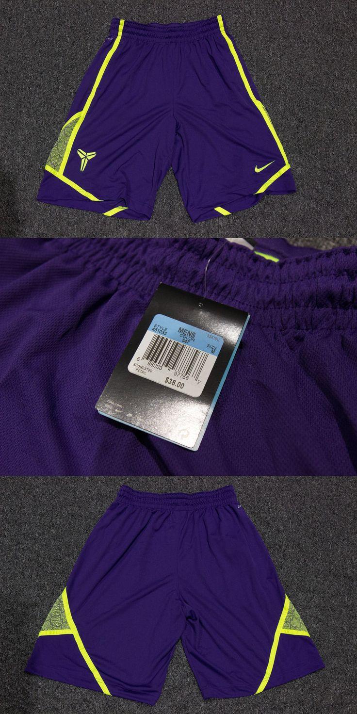 Men 158965: Nike Authentic Kobe Basketball Shorts Purple Cyber Sz Medium Christmas -> BUY IT NOW ONLY: $49.99 on eBay!