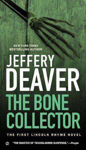 The Bone Collector: The First Lincoln Rhyme Novel by Jeffery Deaver   excellent  series of books featuring the brilliant forensic criminologist Lincoln Rhyme