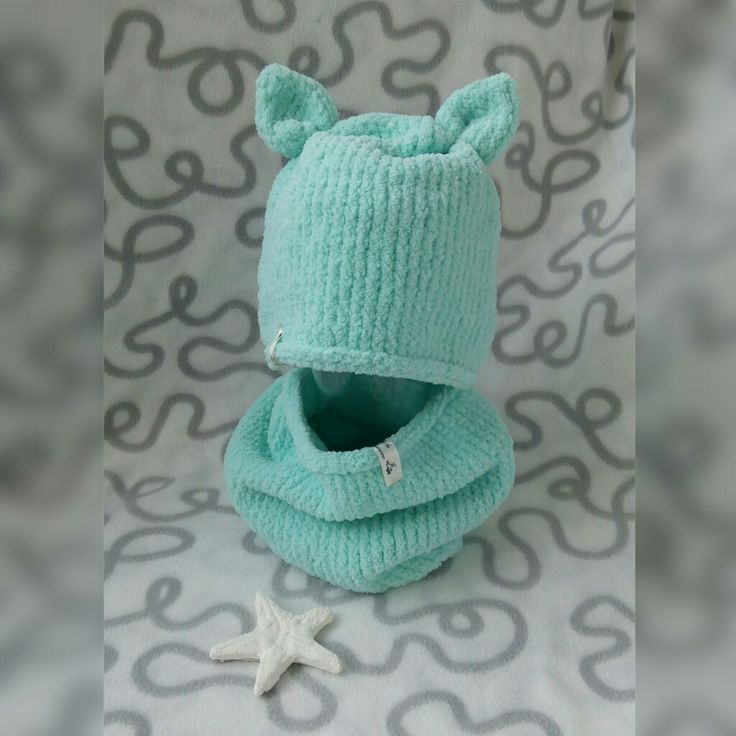 Комплект снуд+шапочка