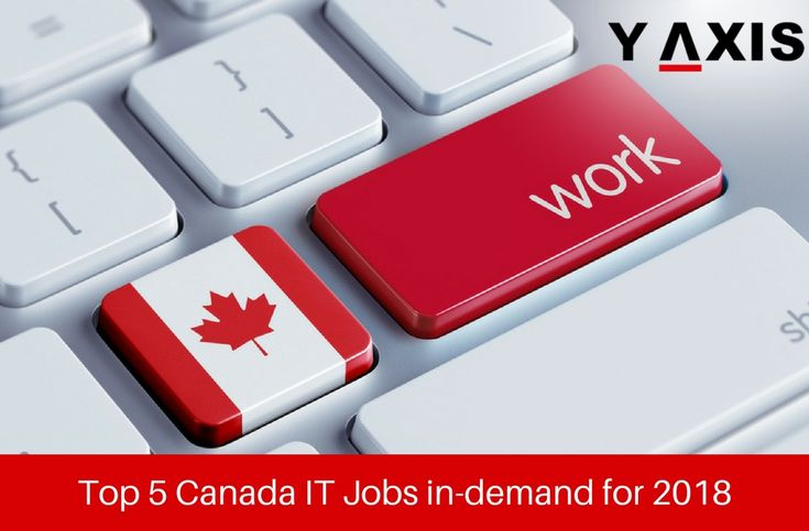 Top 5 Canada IT Jobs in-demand for 2018 have been revealed by the latest study of Randstad the Human Resource firm & #Canada #IT sector had 488, 000 professionals in 2017 and added 11, 500 fresh jobs. #CanadaJobs #CanadaImmigration #CanadaVisa #YAxisVisas #YAxisImmigration