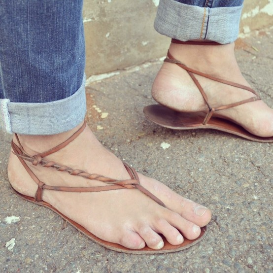 Mexican sandals(Huaraches) now availble from RedOker.