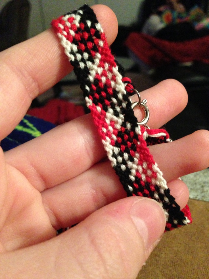 Plaid Bracelets! $5 a piece :) I can make these on any colors, contact to order :)