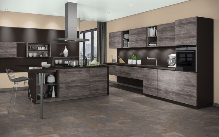 This jackson pine wood grained kitchen is part of our true for Kitchen cabinets jackson