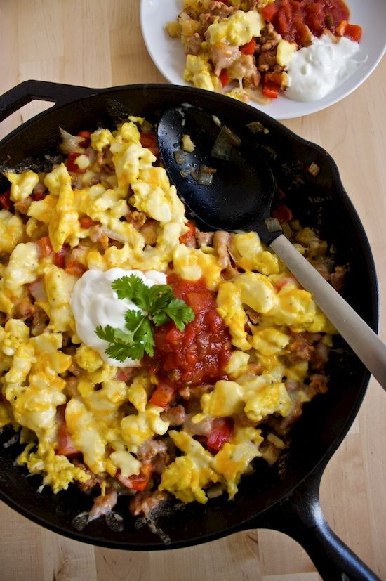 Southwestern Breakfast Skillet