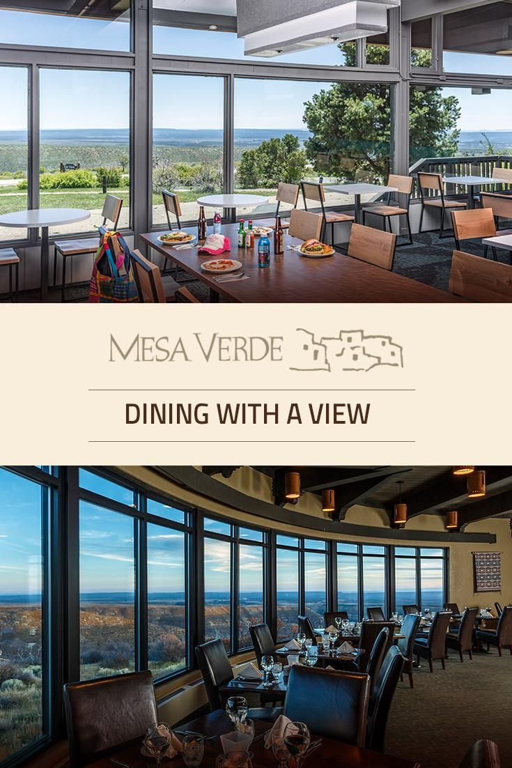 Breathtaking views complement your many dining options here at Mesa Verde National Park. Our menus celebrate the local culture with favorites inspired by the past and present.