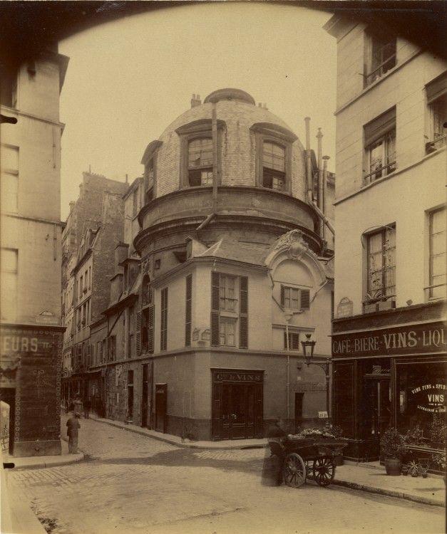 Atget-Paris-Ancienne-ecole-de-Medecine