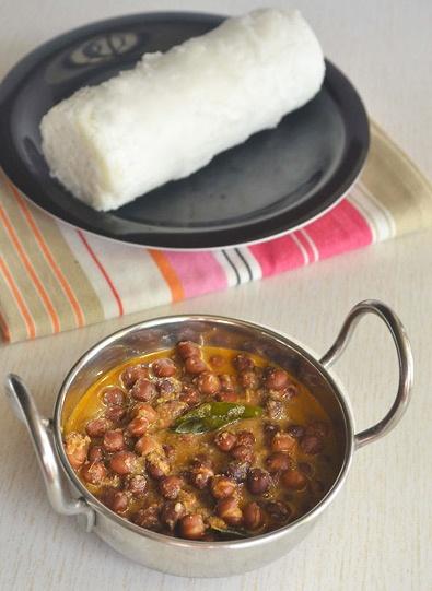 Puttu Kadala Curry : http://www.sharmispassions.com/2011/08/kuzha-puttu-kadala-curry.html