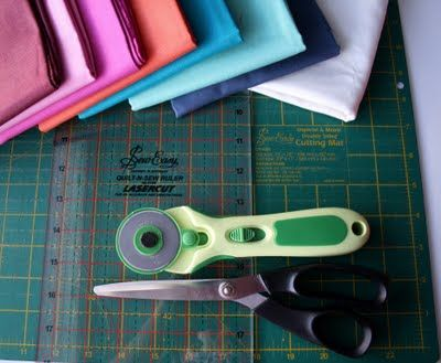 Week 3 - Cutting , Learn how to cut fabric & use your tools. ( It's all in the details)