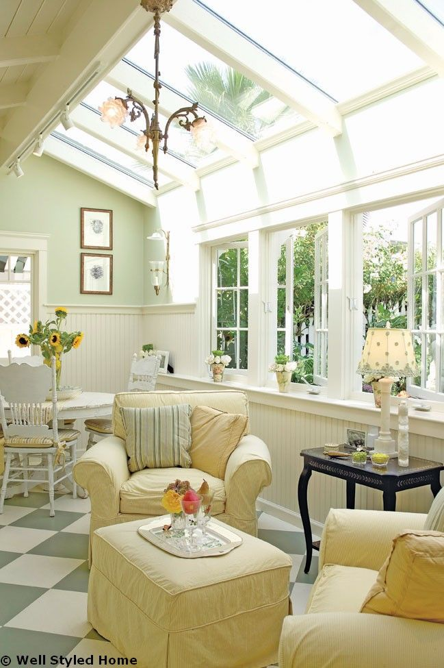 Pictures Of Decorated Sunrooms