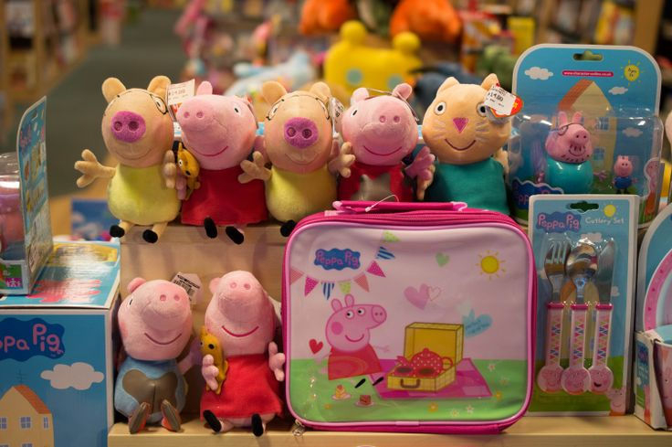 Some of Peppa's friends