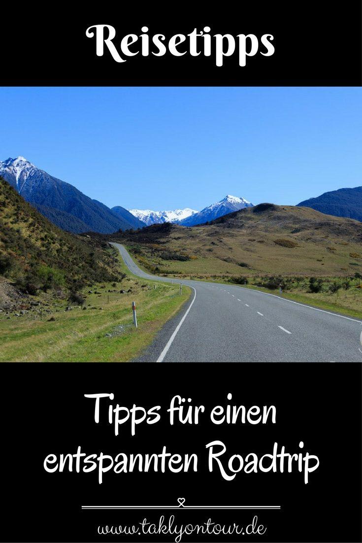 ⇒ Kein #Stress im #Urlaub! Unsere 10 #Tipps für einen entspannten #Roadtrip.