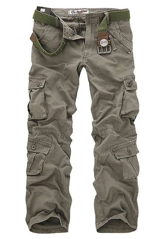 men's pants washing overalls high quality men casual Cargo pants design trousers jeans 5 colors size 28-40