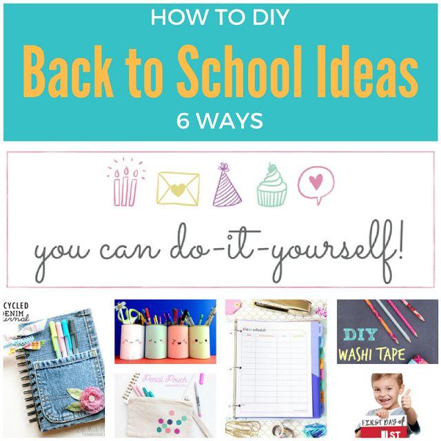 Keeping it Real: 6 fun & useful back-to-school ideas