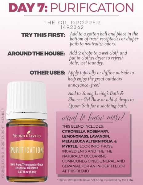 25 Best Ideas About Purification Essential Oil On