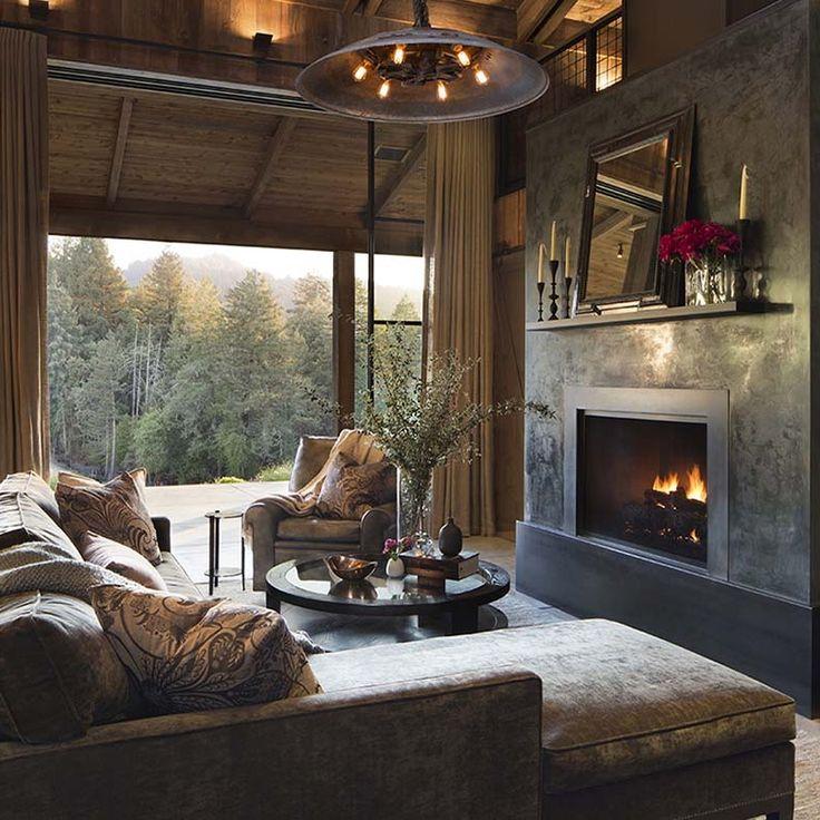 farmhouse style cabin in napa valley - Napa Styles