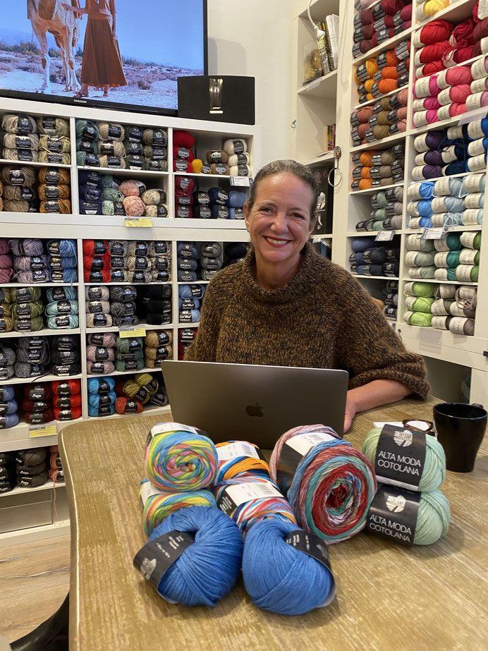 Lauras Wollladen Wolle In Koln Lana Grossa Brigitte Schal Furs Leben 2019 Lang Yarns Schmeichelgarne Strickkurse Wolle In Koln Lauras Wollladen In 2020