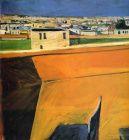 Richard Diebenkorn (American, Bay Area Figurative Movement, 1922–1993): Yellow Porch, 1961.