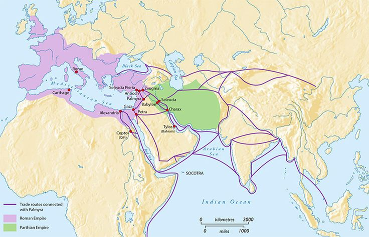 When All Roads Led to Palmyra.  Palmyra's world, c.first century AD