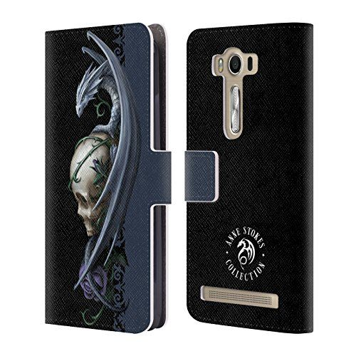 Official Anne Stokes Skull And Rose Dragons 2 Leather Boo…