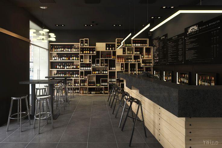 Divino Wine Bar 3D Render By Studio Triad