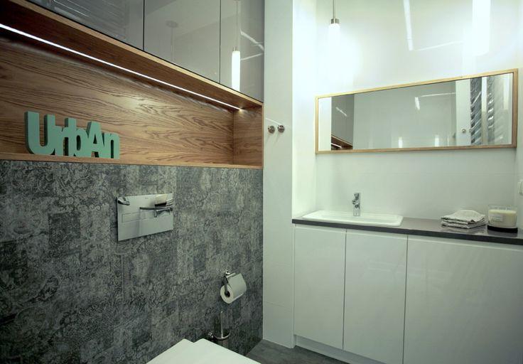 #interior #design #onedesignpl #onedesign #bathroom #project #warsaw