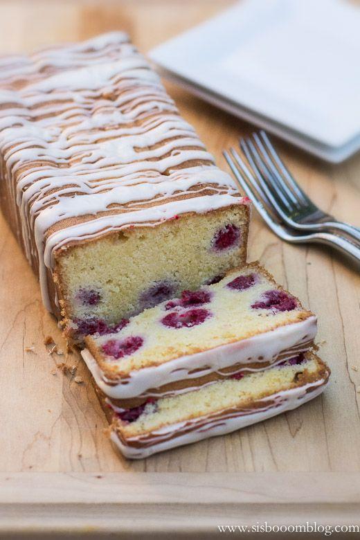 Ispahan Loaf Cake