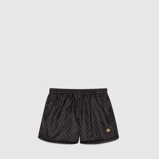 Short de bain en nylon GG - Gucci Mer Homme 410571XT4551000