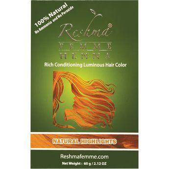 Reshma Henna Semi-Permanent Color Natural Highlights
