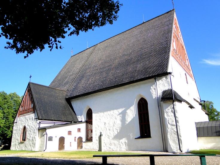 a church in Porvoo, Finland