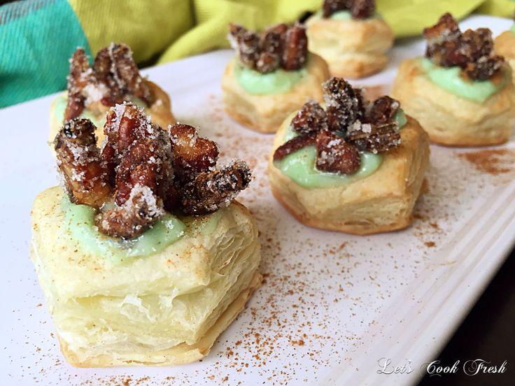 Candied Cricket & Pecan Pastries
