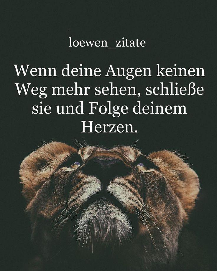 """LION ARMEE? auf Instagram: """"Wenn Ihre Augen nicht weiter sehen können, dann … – Annette Fortmeier   – text"""