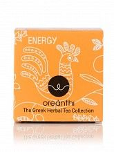 """The Greek herbal tea collection «Energy», from Attica """"Oreanthi"""" 15x1,5g"""