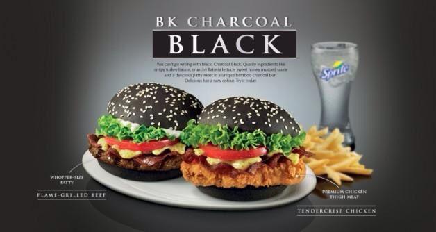 Black BK Burger