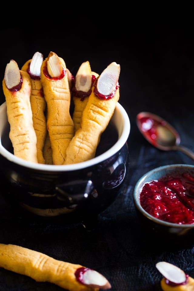 Paleo Witch Finger Cookies {Vegan}   Food Faith Fitness