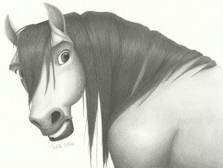 spirit el caballo indomable dibujo | Más de 1000 imágenes sobre Spirit en Pinterest | Corriendo, Caballos ...