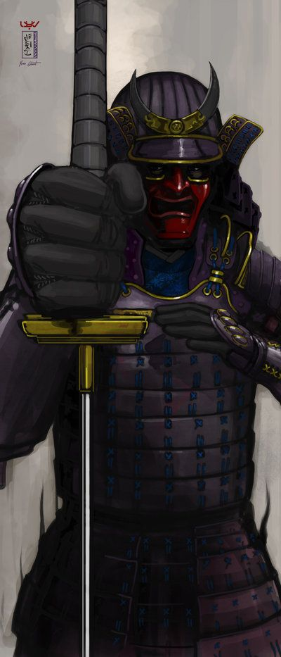 -- Samurai -- by *wyv1 on deviantART