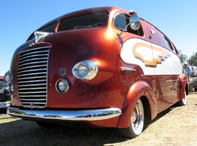 It's hard to believe that this stylish motorhome was built in 1937. Dubbed the Zeppelin by its current owner, famed customizer Art Himsl, the Zeppelin started out its life as a prototype house car built by a mechanic at the Chris-Craft boat dealership in San Francisco.