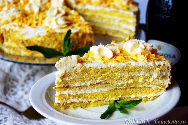 Апфельмусс - торт с яблочным кремом