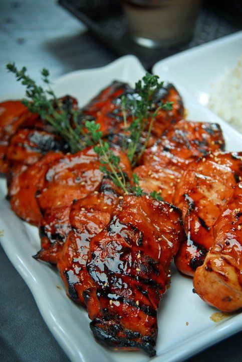 Recipe For South East Asian Barbeque Chicken -