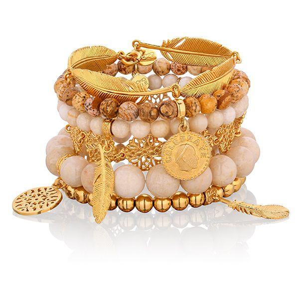 Róża pustyni #mokobellejewellery #mokobelle #jewellery #jewelry #bracelet #gold #feather #desert #rose