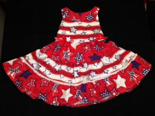 july 4th pageant dress