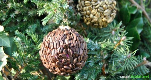 Weihnachtsbaumkugeln einfach aufwerten statt wegwerfen