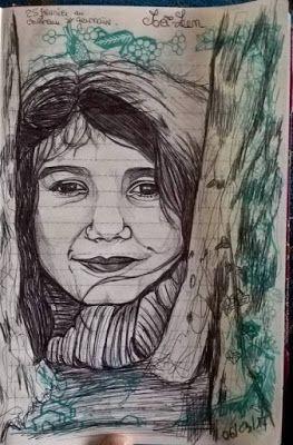 armonyann: dessin au stylo Bic (portraits)