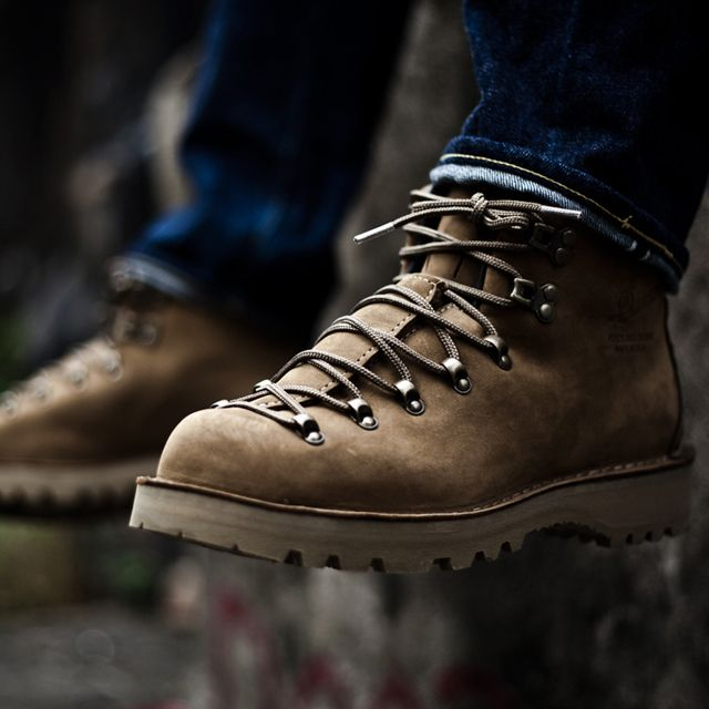 Fancy - Danner Mountain Light Patterson Boots by Stumptown