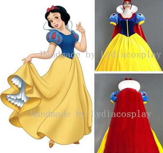 Handmade - Snow White Dress, Snow White Costume, Snow White Cosplay, Snow White Dress Cosplay Costume Adult/kid Available