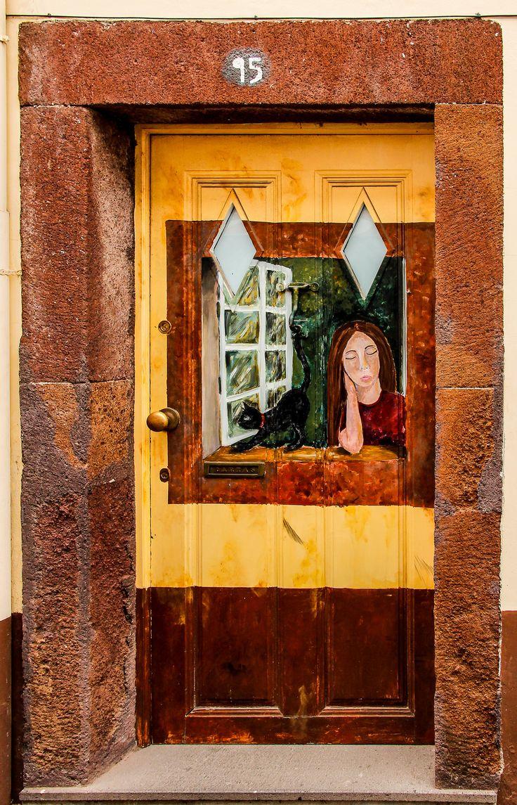 //flic.kr/p/p1JLc8 | Door Portugal & 670 best Doors- Clever artwork images on Pinterest | Windows ...