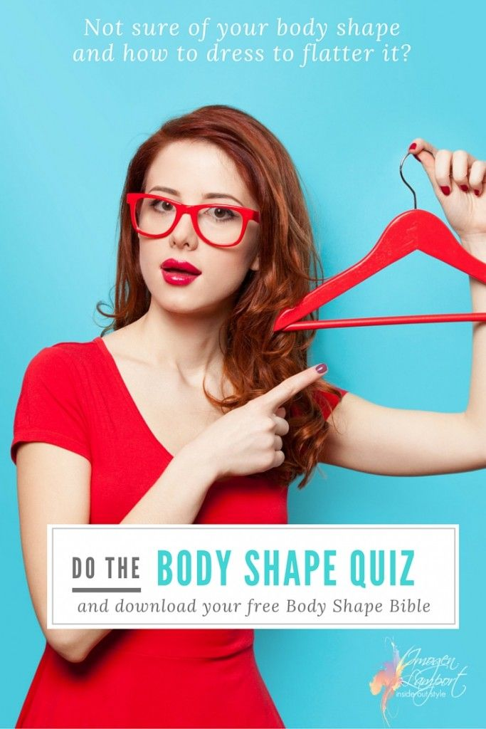 What dress suits my body shape quiz with pictures