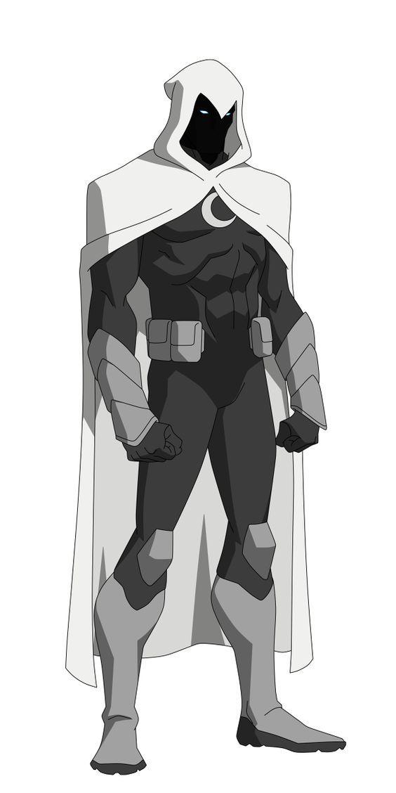 Moon Knight Redesign by Bobkitty23.devian... on @DeviantArt